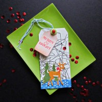 Creating for Christmas: A Tag Made with Icicles