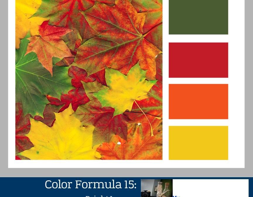 Color Formula 15: Bright Leaves-color palette