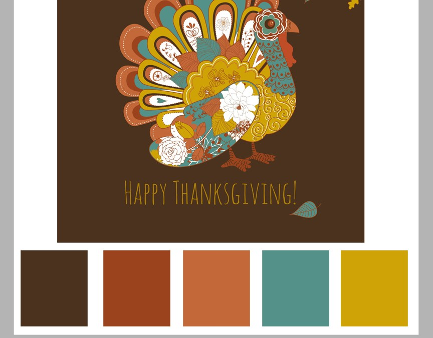 Color Palette 16: Happy Thanksgiving