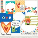 Monster Crush Journal Cards by Traci Reed