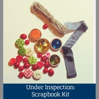 Under Inspection: Scrapbook Kit and Class Subscriptions