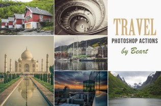 Photoshop actions for travel photos