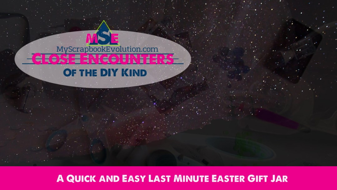 a Quick and Easy Last Minute Easter Gift Jar