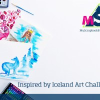 Inspired by Iceland Art Challenge and Blog Hop