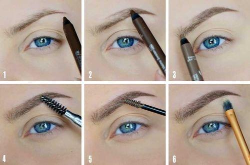 Como pintar sobrancelhas