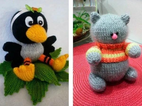 Вязание для начинающих - как связать игрушки крючком (фото ...