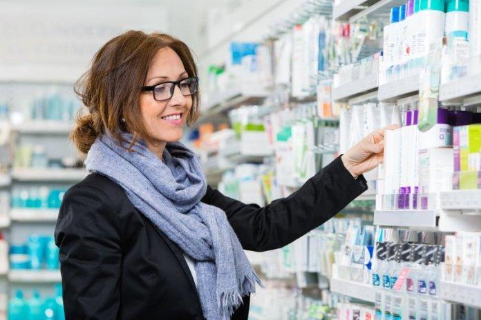 Аптечные средства для ухода за кожей