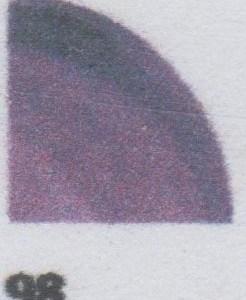 Postulínslitur með blýi