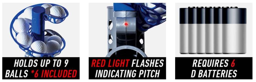 Franklin Sports MLB Electronic Baseball Pitching Machine 1