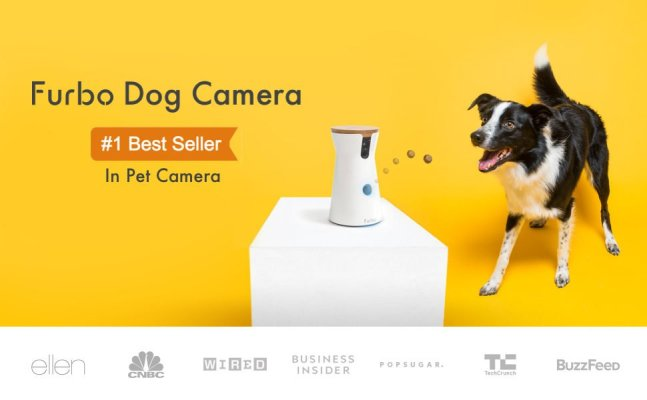 Furbo Dog Pet Camera Treat Dispenser