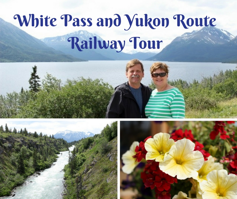 Highlights of the White Pass and Yukon Route Railway Tour which was a shore excursion on our Alaskan Cruise. Includes time at Yukon Suspension Bridge.