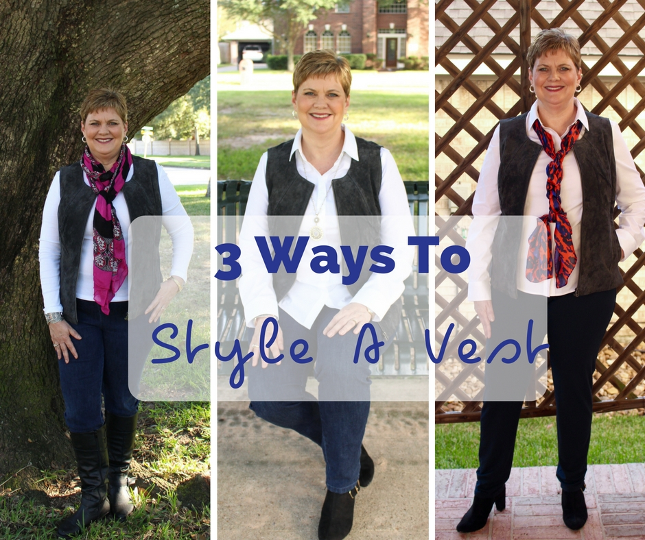 Three Ways to Style A Vest | Styling The Genuine Leather Vest from Chadwicks of Boston