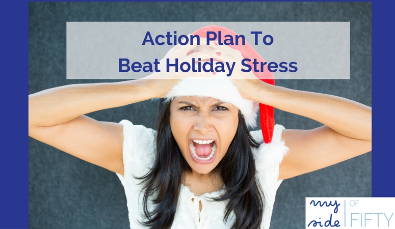 Action Plan To Beat Holiday Stress by Liz Applegate, Life Coach and Founder of Midlife Schmidlife