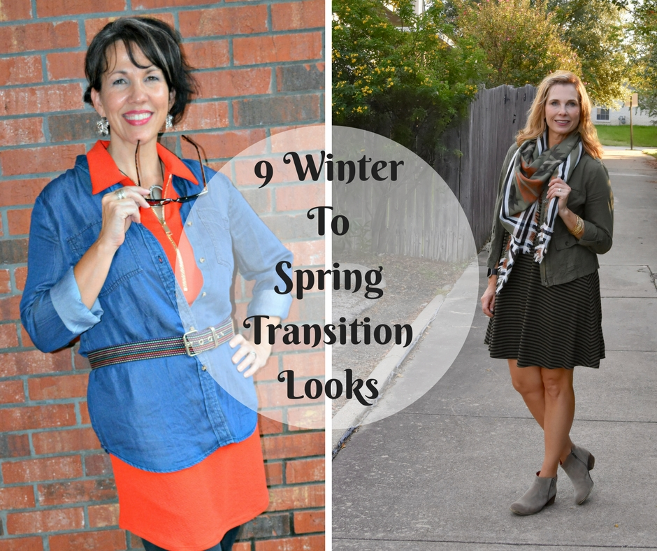 9 Winter To Spring Transition Looks
