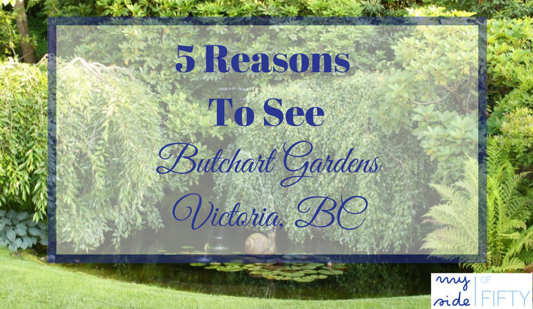Butchart Gardens on Canada's list of historic sites. 54 acres of beautifully landscape gardens with flowers, trees and plants from all over the world.