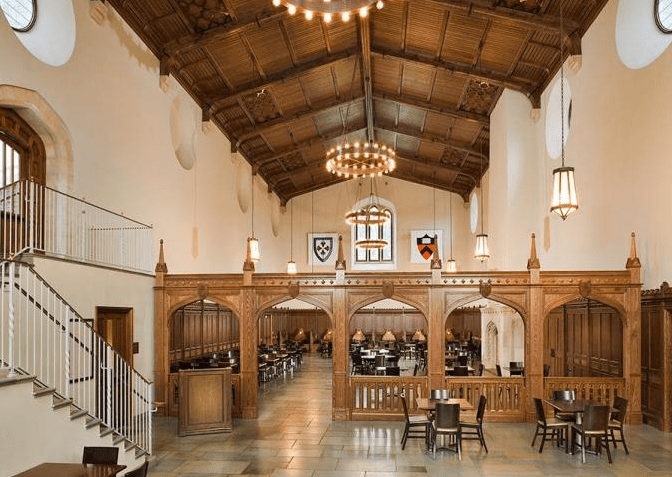 My dining hall looks like something from Hogwarts