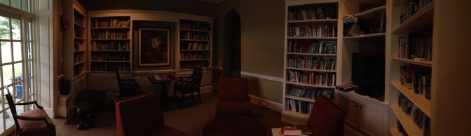 Forbes' library, it is definitely a country club