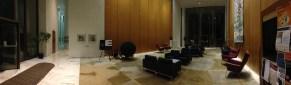 Atrium inside Robertson Hall