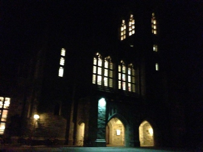Firestone at night