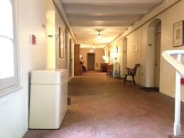 Offices line the hallway