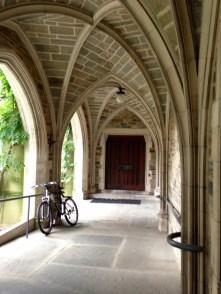 Graduate School hallway leading to Proctor Hall