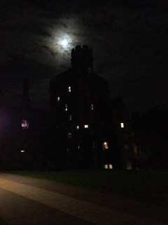 My college is a castle