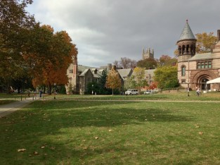 Holder Tower and Alexander Hall