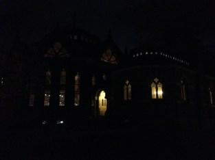 Chancellor Green at night
