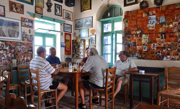 Παραδοσιακό Καφενείο, Χώρα Αστυπάλαιας