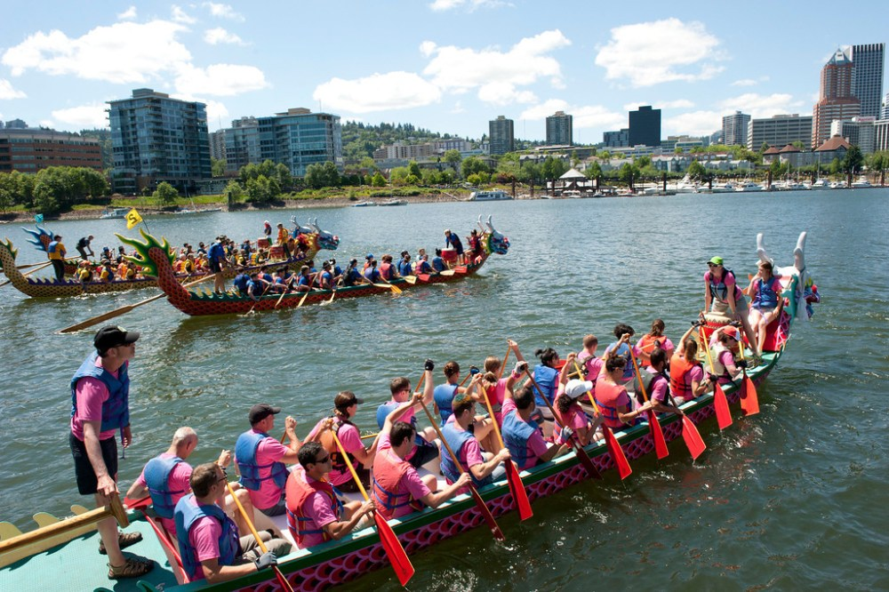 Portland Rose Festival Dragon Boat Race