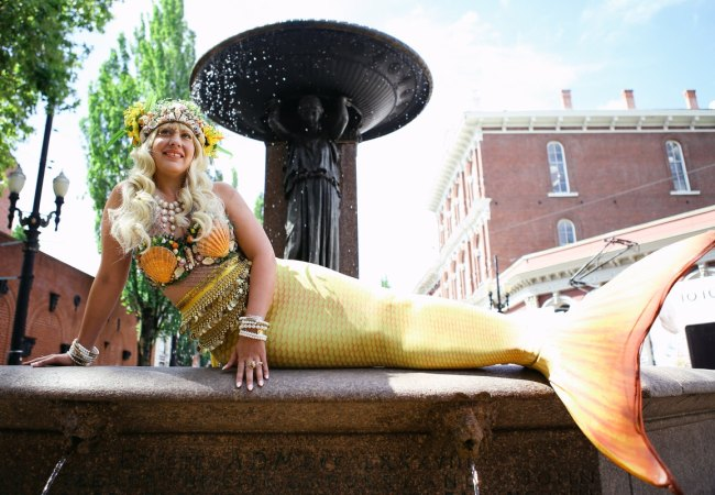 Celebrate Portland's love with rivers with Portlandia Mermaid Parade