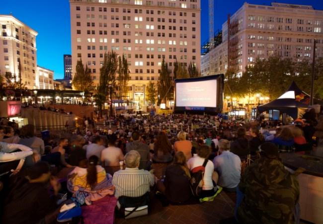 BIG Movies! BIGGER Screen Outdoors! And, It's For Free!
