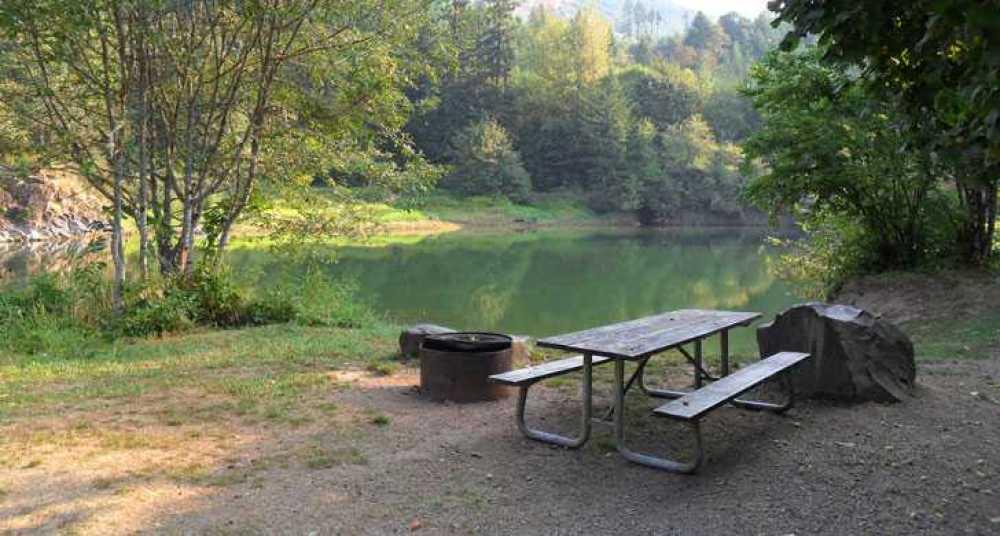 Cascara reservoir