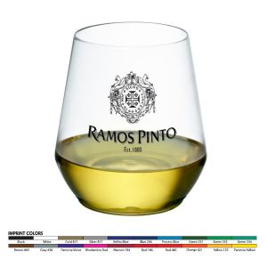 12oz Stemless Plastic Wine Glass