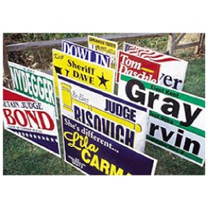 Poly Bag Signs