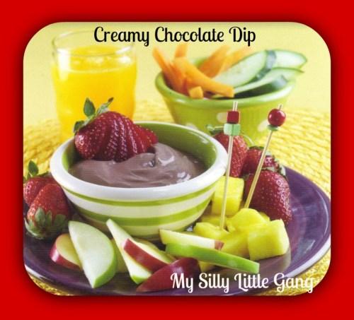 Creamy Chocolate Dip