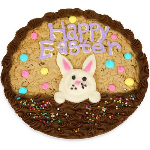 baby bunny easter cookie