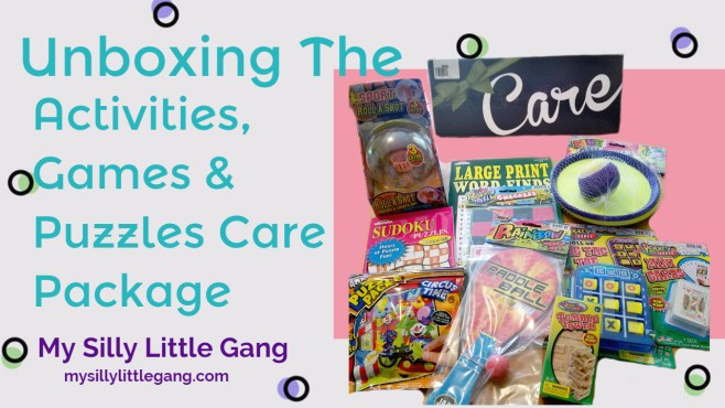 Activities, Games & Puzzles Care Package Unboxing