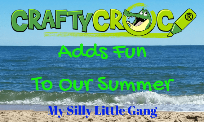 Crafty Croc Adds Fun To Our Summer