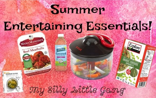 Summer Entertaining Essentials!