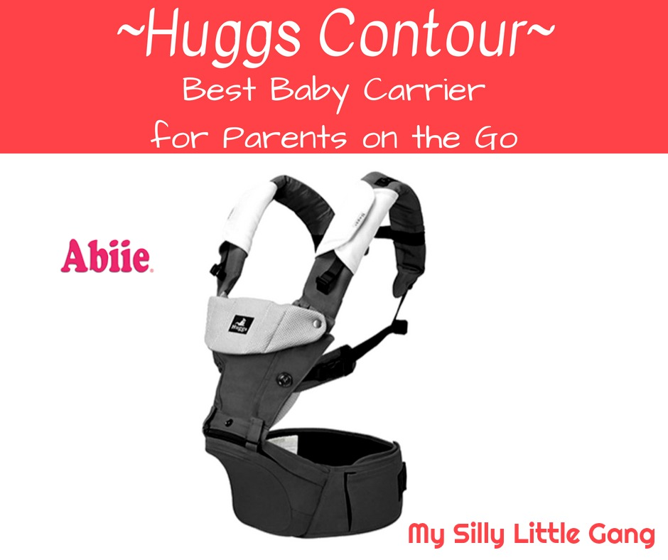 Huggs Contour ~ Best Baby Carrier for Parents on the Go