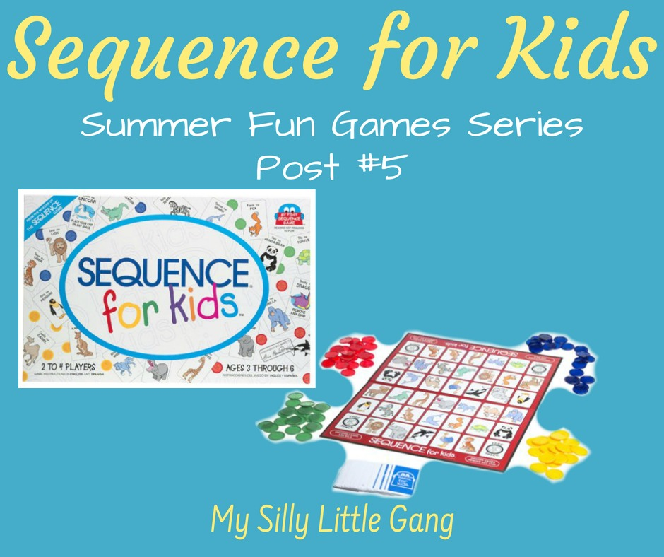 Sequence For Kids ~ Summer Fun Games Series Post #5