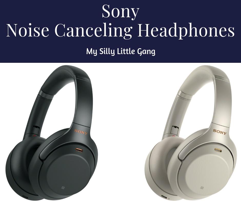NEW ~ Sony Noise Canceling Headphones