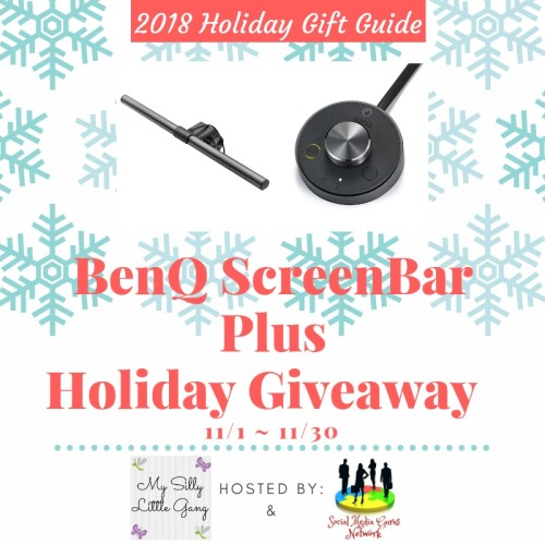 BenQ ScreenBar Plus Holiday Giveaway