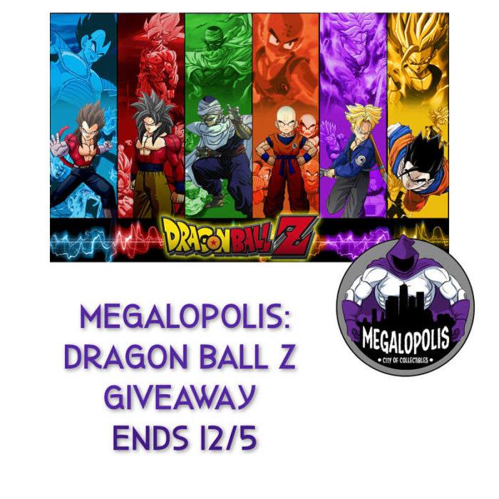 Megalopolis:Dragon Ball Z Giveaway