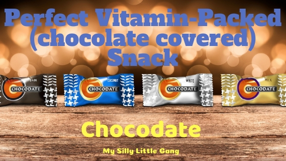 Perfect Vitamin-Packed (chocolate covered) Snack