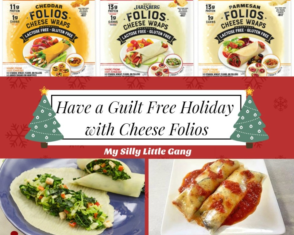 Have a Guilt Free Holiday with Cheese Folios