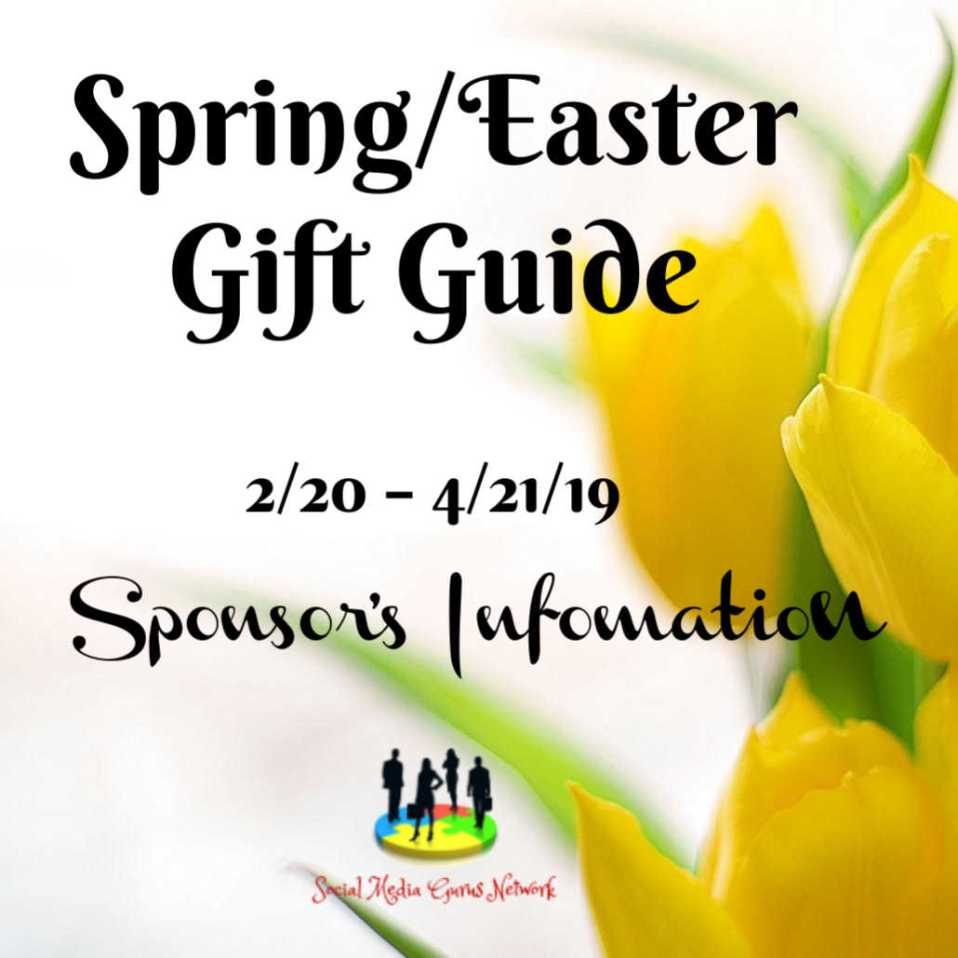 Spring / Easter Gift Guide Sponsor's Information