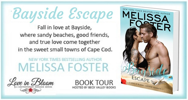 Bayside Escape by Melissa Foster - Book Tour