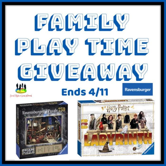 Family Play Time Giveaway Ends 4/11 @SMGurusNetwork @las930 @ravensburgerglobal @wonderforge @brioplay #ravensburgermoment
